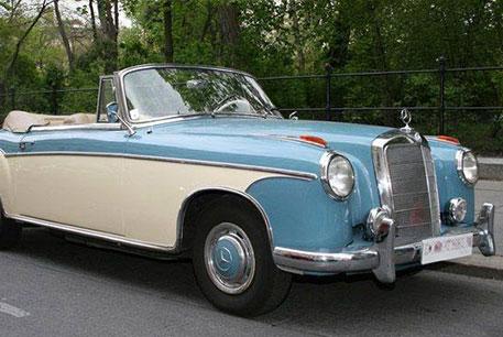 Mercedes restauro cromatura